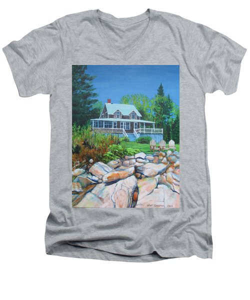 Maine Cottage Men's V-Neck T-Shirt