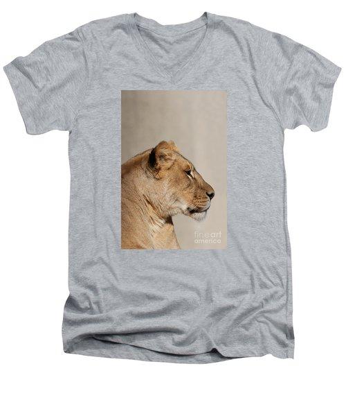 Majestic #2 Men's V-Neck T-Shirt