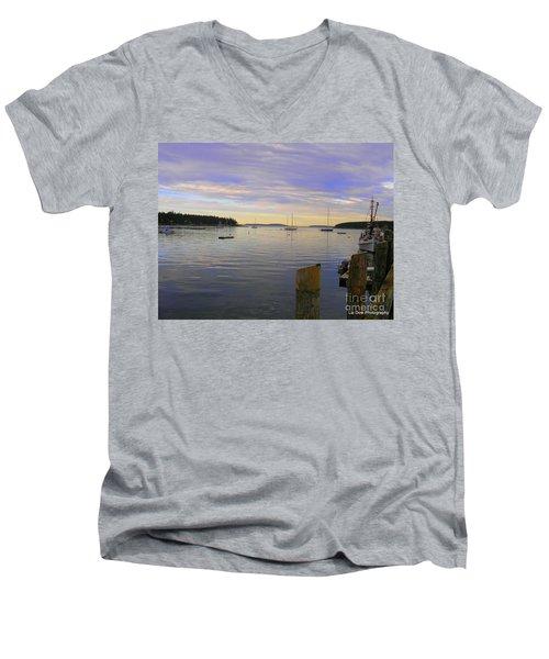Majestic Sunrise Men's V-Neck T-Shirt