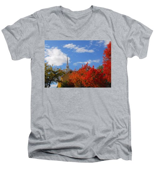 Men's V-Neck T-Shirt featuring the photograph Majesty by Lynn Bauer