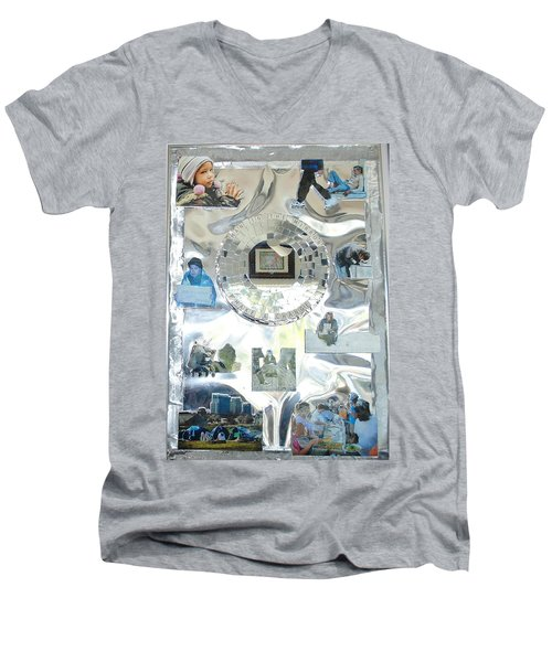 Man In The Mirror Men's V-Neck T-Shirt