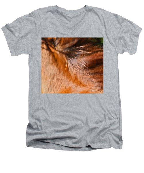 Mane Dance Light Men's V-Neck T-Shirt
