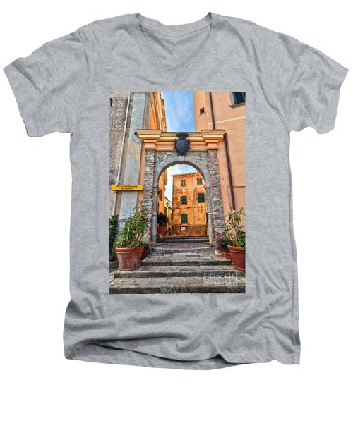 Marciana - Ancient Gate Men's V-Neck T-Shirt