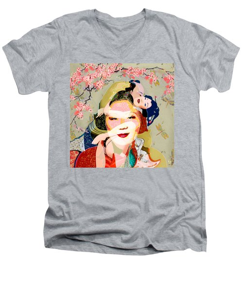 Margaret Cho 4 Men's V-Neck T-Shirt
