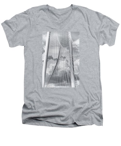 Margaret Hunt Hill Bridge Men's V-Neck T-Shirt