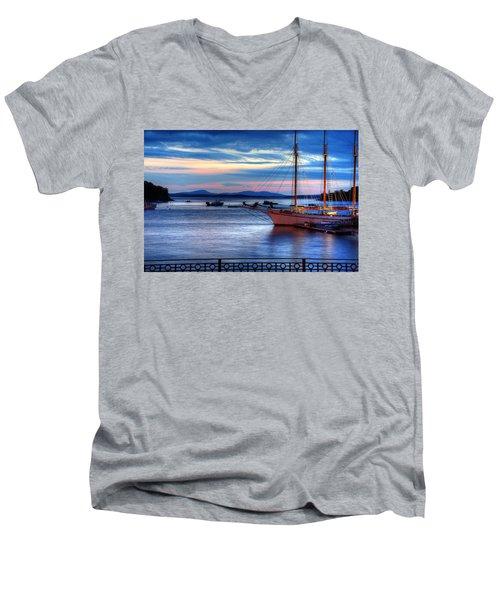 Margaret Todd At Sunrise Men's V-Neck T-Shirt