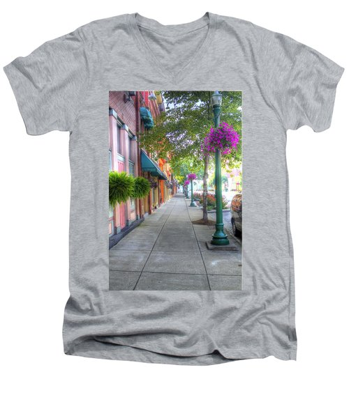 Marietta Sidewalk Men's V-Neck T-Shirt