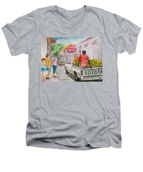 Marigot St. Martin Men's V-Neck T-Shirt