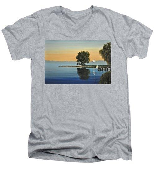 Marina Morning Men's V-Neck T-Shirt