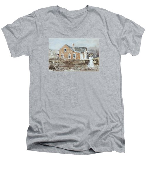 Market Day Men's V-Neck T-Shirt
