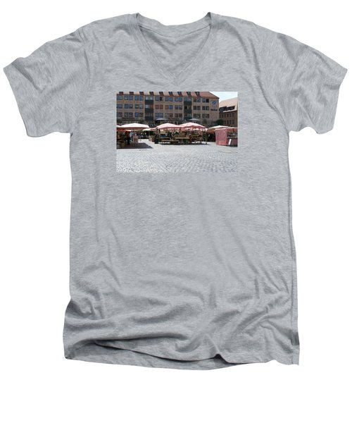 Markt Platz Men's V-Neck T-Shirt