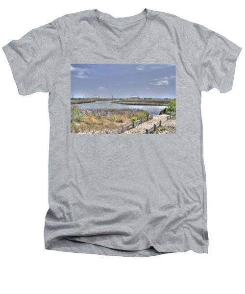 Marsh Men's V-Neck T-Shirt