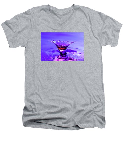 Martini Splash Men's V-Neck T-Shirt