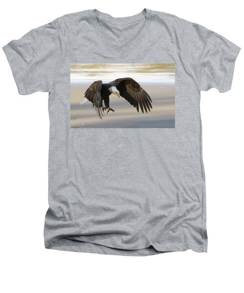 Master Of The Sky Men's V-Neck T-Shirt