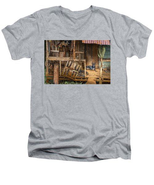 Master's Home Men's V-Neck T-Shirt
