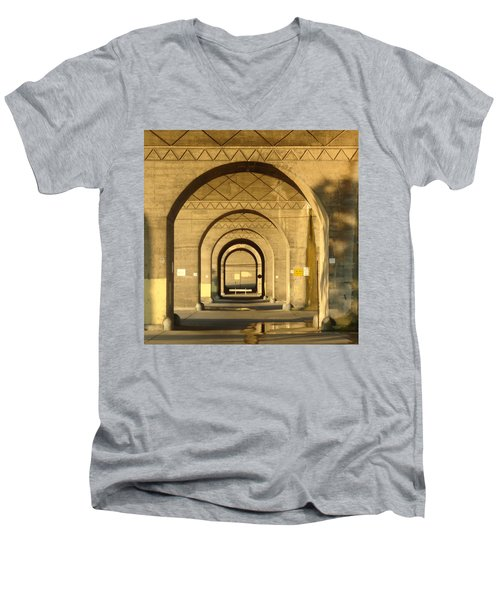 Men's V-Neck T-Shirt featuring the photograph Matryoska by Joseph Skompski