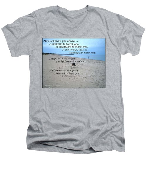 May God Grant You Always Men's V-Neck T-Shirt