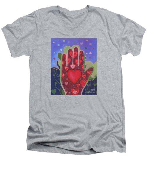 May We Choose Love Men's V-Neck T-Shirt