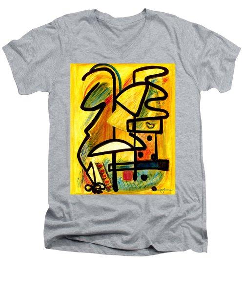 Mayan Men's V-Neck T-Shirt