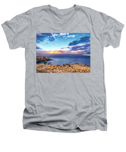 Mcgregor Point 1 Men's V-Neck T-Shirt
