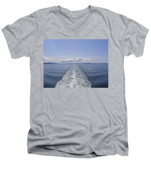 Men's V-Neck T-Shirt featuring the photograph Memories by Brian Williamson