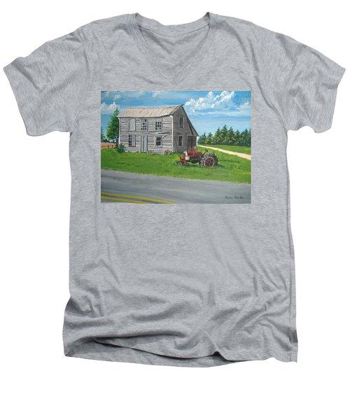 Memories... Men's V-Neck T-Shirt by Norm Starks