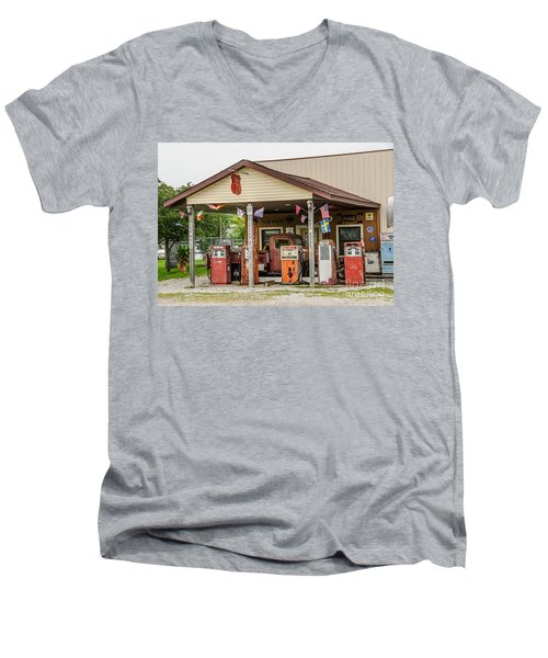 Memories Of Route 66 Men's V-Neck T-Shirt