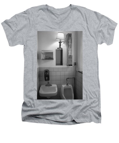 Mens Room Men's V-Neck T-Shirt
