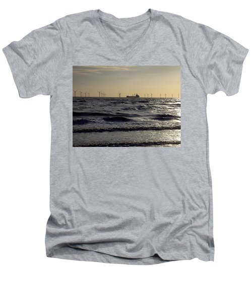 Mersey Tanker Men's V-Neck T-Shirt