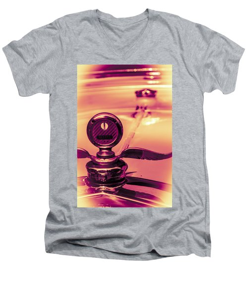 Messko Thermometer Men's V-Neck T-Shirt by Bartz Johnson