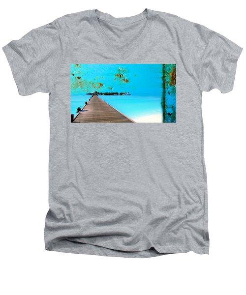 Metalbeach Men's V-Neck T-Shirt