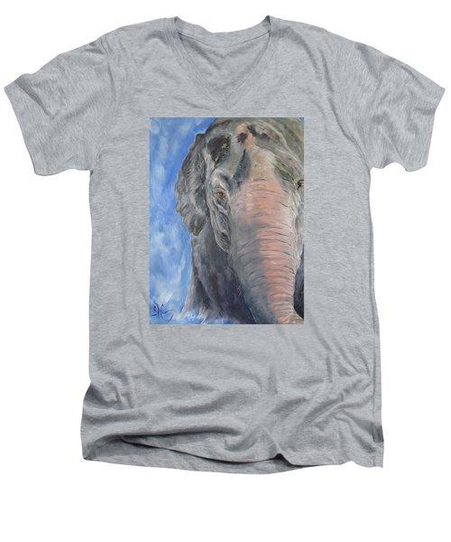 The Elder, Methai An Elephant Men's V-Neck T-Shirt