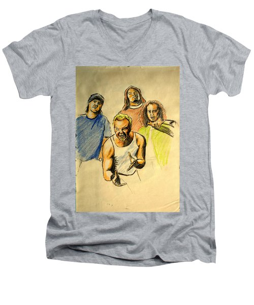 Mettalica Men's V-Neck T-Shirt
