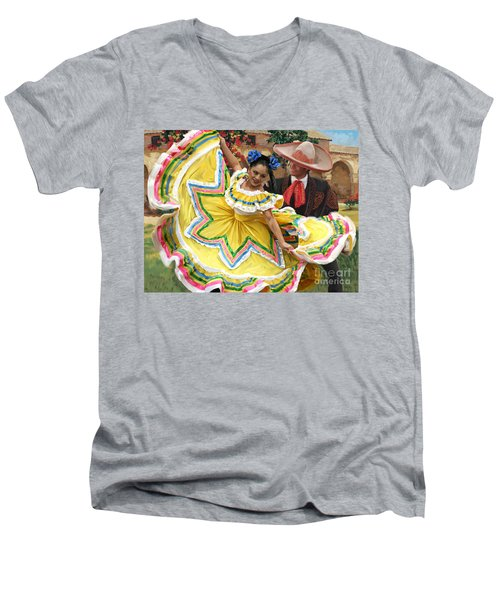 Mexicanhatdance Men's V-Neck T-Shirt