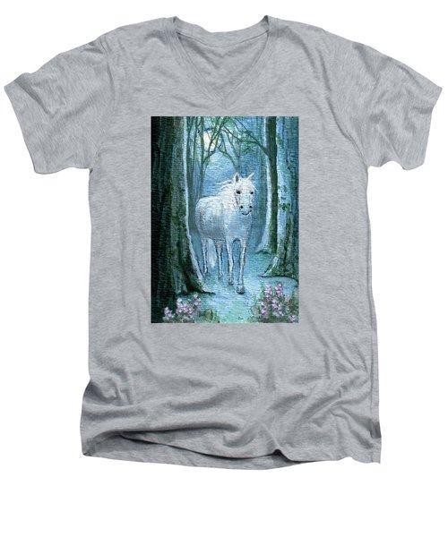 Midsummer Dream Men's V-Neck T-Shirt by Terry Webb Harshman