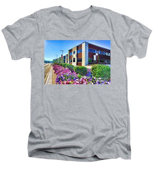 Geis Midtown Tech Park - Cleveland Ohio Men's V-Neck T-Shirt