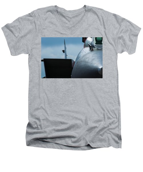 Mig-31 Interceptor Men's V-Neck T-Shirt