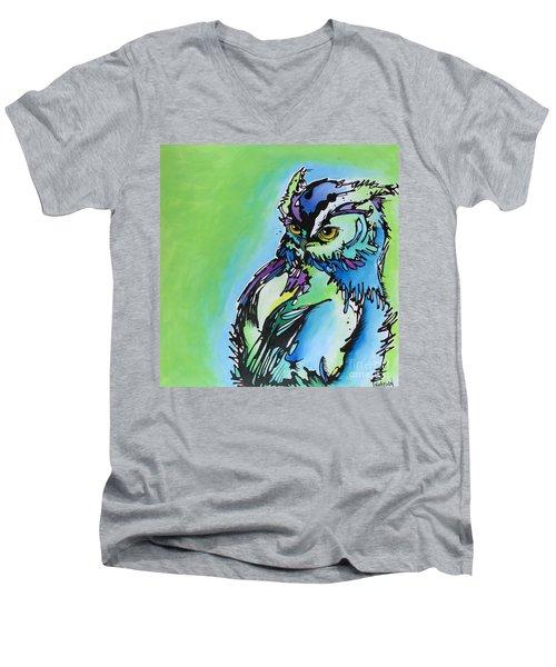 Million Dollar Man Men's V-Neck T-Shirt by Nicole Gaitan