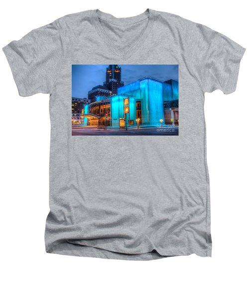 Milwaukee Pac Evening Glow Men's V-Neck T-Shirt