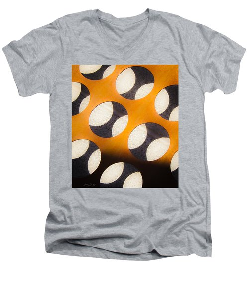 Mind - Hemispheres  Men's V-Neck T-Shirt by Steven Milner