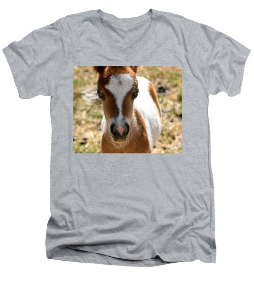 Mini Mini Men's V-Neck T-Shirt