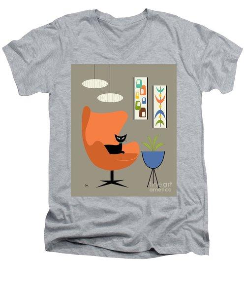 Mini Oblongs And Mobile Men's V-Neck T-Shirt