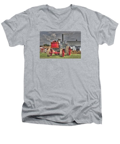 Minneapolis Return Flue  Men's V-Neck T-Shirt