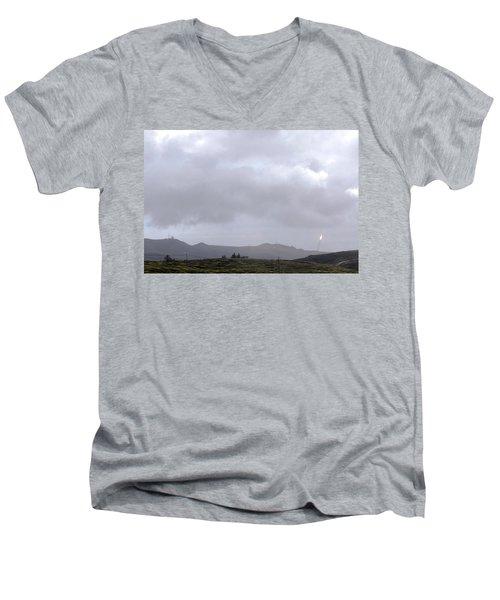 Minotaur Iv Lite Launch Men's V-Neck T-Shirt by Science Source