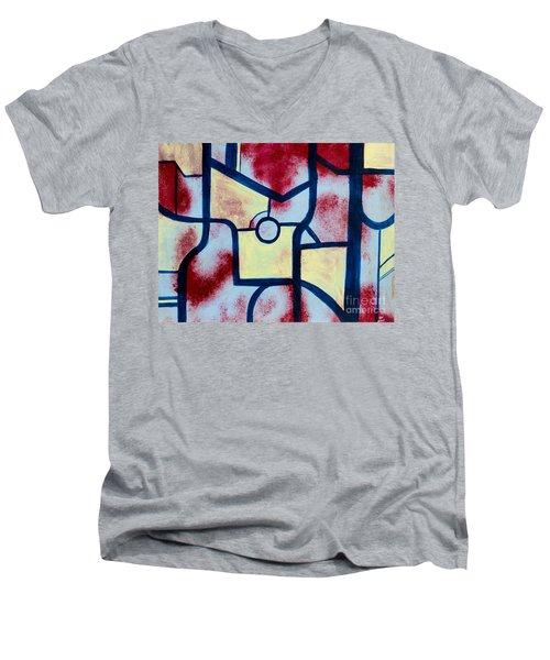 Misconception Men's V-Neck T-Shirt by Stefanie Forck