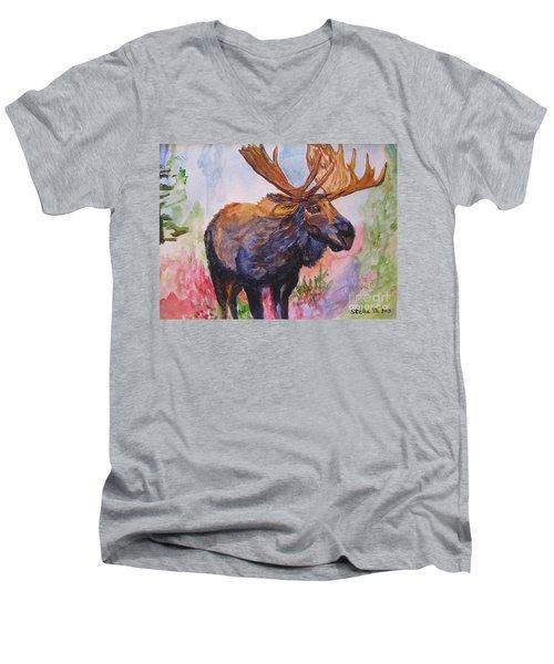 Mister Moose Men's V-Neck T-Shirt