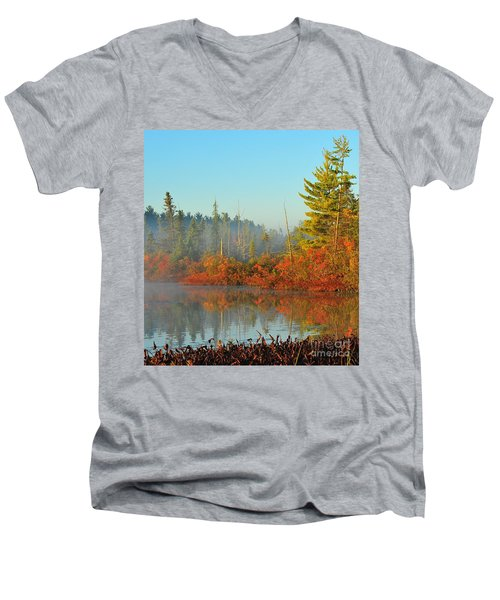 Misty Marsh Men's V-Neck T-Shirt