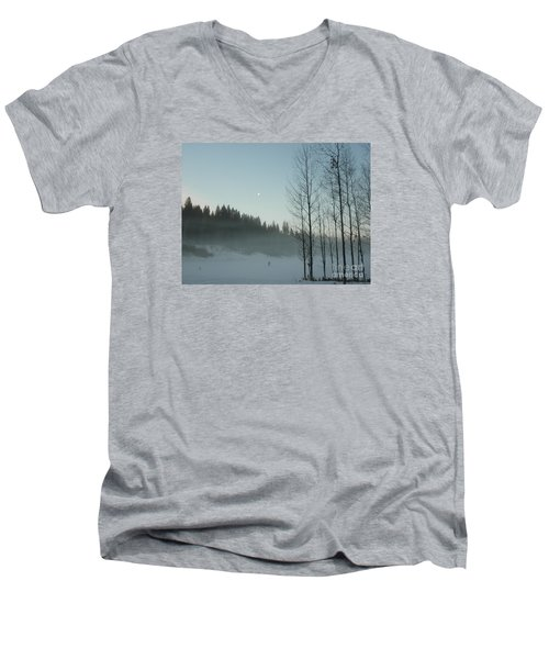 Misty Meadow Men's V-Neck T-Shirt