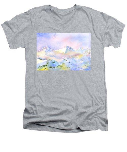 Misty Mountain Men's V-Neck T-Shirt