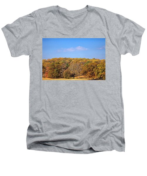 Mixed Fall Men's V-Neck T-Shirt
